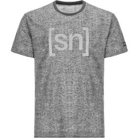 super.natural Relax Tee Printed - Camiseta manga corta Hombre - gris